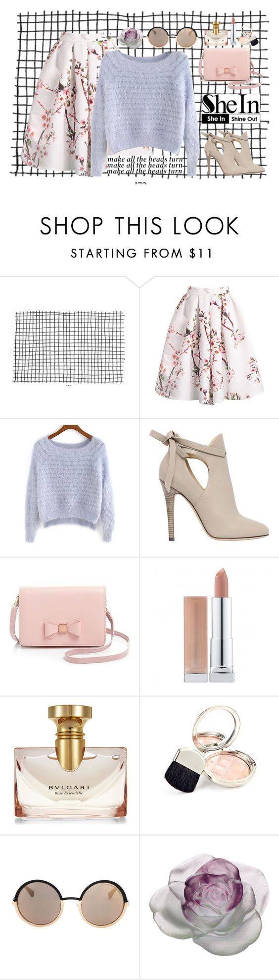 """#Purple Swearter, Who doesn't Like (contest)"" by aliicenpdm ❤ liked on Polyvore featuring Jimmy Choo, Ted Baker, Bulgari, By Terry, Marc by Marc Jacobs and Daum"