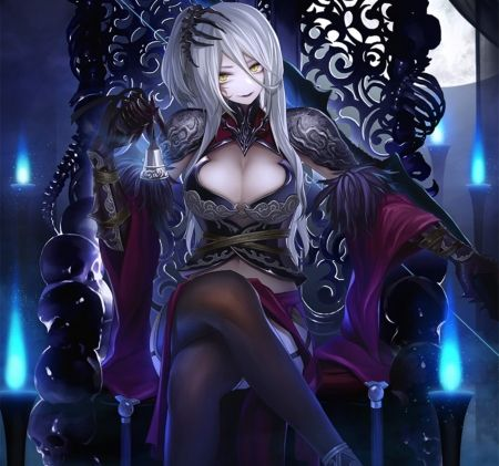 Lovely Woman Image Gothic Queen 59