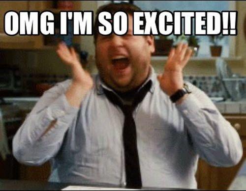 50 Best I M So Excited Memes Sayingimages Com In 2021 Excited Meme Funny Memes Excited Quotes