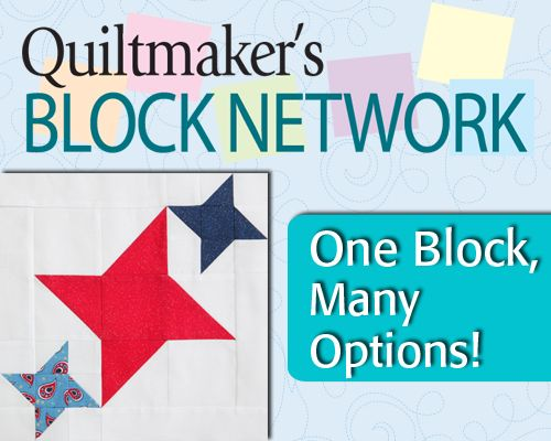 Learn how to make this fun, versatile block using triangle squares. Paula Stoddard shows you all the exciting design possibilities and layouts using Best Friends. This block is available in Quiltmaker's 100 Blocks, Volume 4.