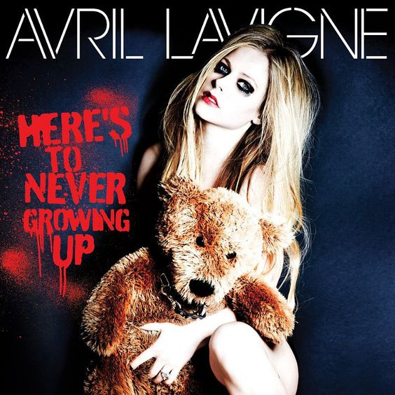 Avril Lavigne – Here's to Never Growing Up (single cover art)