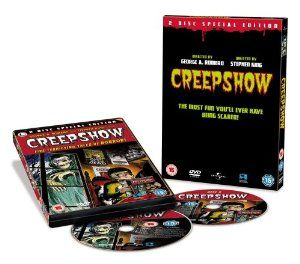 Creepshow (2 Disc Special Edition) [1982] [DVD]: Amazon.co.uk: Hal Holbrook, Adrienne Barbeau, E. G. Marshall, Leslie Nielsen, Fritz Weaver, Viveca Lindfors, Ted Danson, Carrie Nye, Stephen King, George A. Romero, Richard P. Rubenstein: DVD & Blu-ray