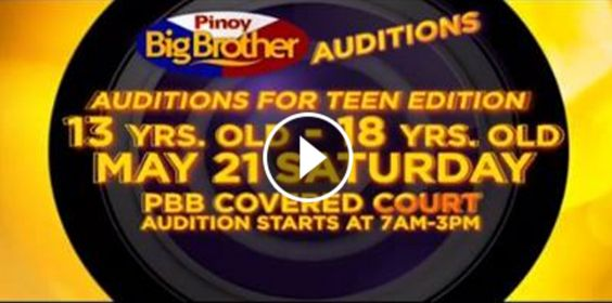ABS-CBN network has just announced the first audition dates of the much-awaited reality television show Pinoy Big Brother Season 7!