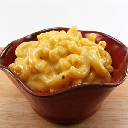 stove-top mac n cheese, as quick as making it from the box!