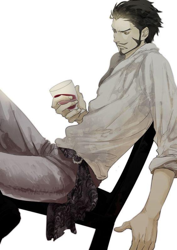 Dracule Mihawk,Shichibukai - One Piece,Anime