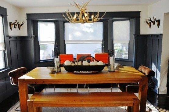 30 Elegant Masculine Dining Room Designs That You Need To See Today Pinzones In 2020 Masculine Dining Masculine Dining Room Dining Room Design