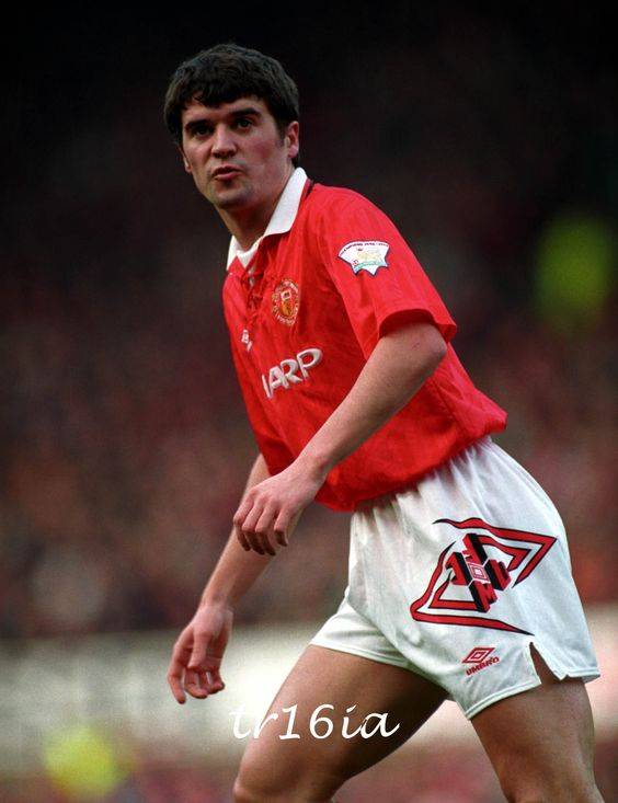 Roy Keane: 94 Season, Season Manchester, Roy Keane, Keane Red, Keane 1993