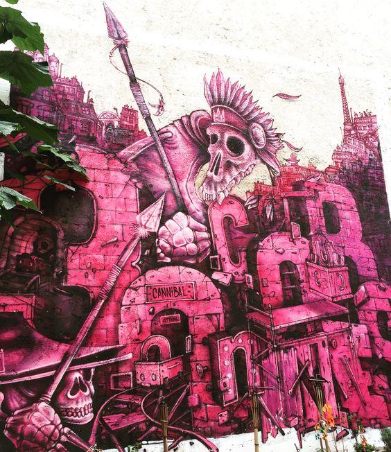 Il était une fois aux  by @cannibal_letters #canniballetters & @danteoner #danteoner #voodoo #cannibalism  #streetart #graffiti #graff #spray #bombing #wall #instagraff #streetartist #urbanart #urbanartist  #streetartparis #parisgraffiti #graffitiwall #wallporn #wallpornart #streetarteverywhere #streetphoto #streetartandgraffiti #urbanwalls #graffart  Rue JP Timbaud #paris