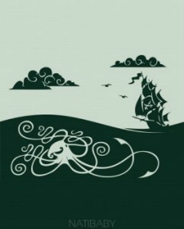 Kraken Marine RELEASE THE KRAKEN! 70% Cotton 30% Wool