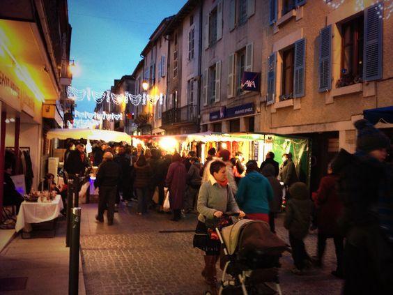 Marche du Nöel, Bellac, Haute-Vienne, Limousin. #YesYouAre #Limousin