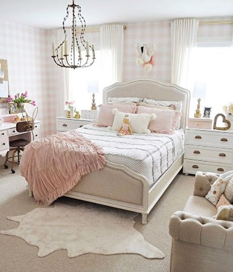 Delightful Elegant Girlu0027s Bedroom Designed For Coastal Living. Tags:  BarclayButeraInteriors, InteriorDesign, Beach, Coast | My Works | Coastal |  Pinterest | Elegant, ...