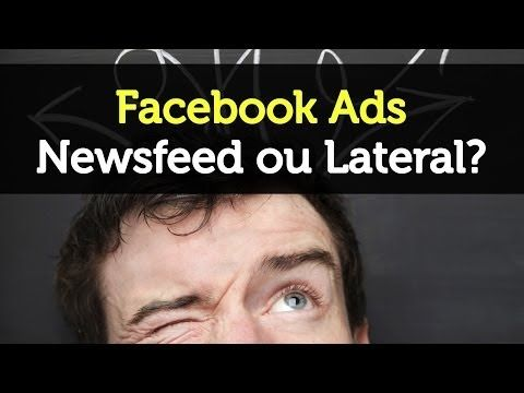 Facebook Ads | Newsfeed vs Lateral - Estrategi.ca | Social Intelligence