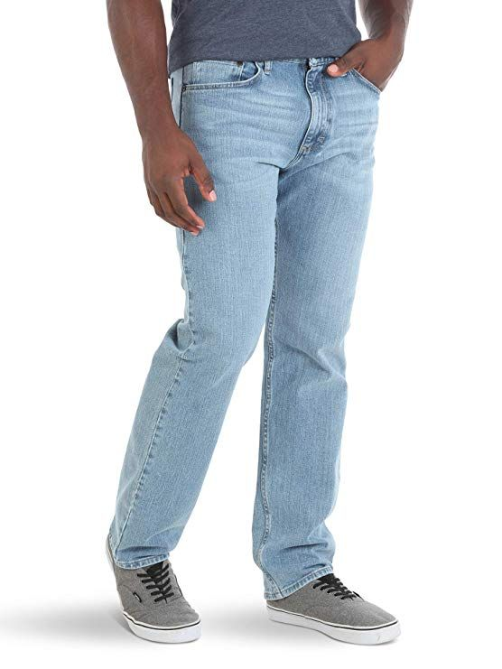 Wrangler Mens Authentics Mens Slim Fit Straight Leg Jean Jeans