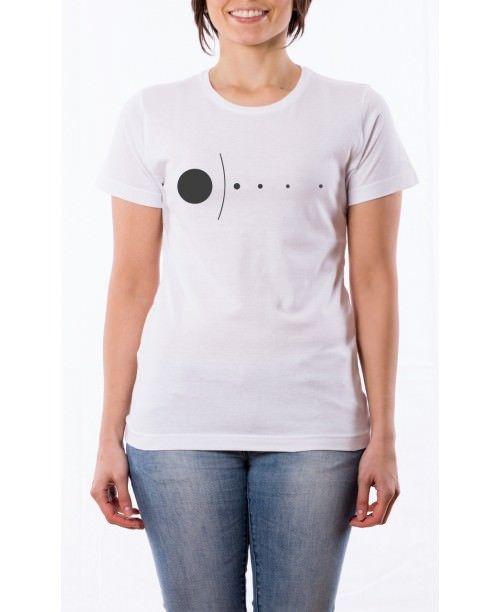 T Shirt Sistema Solare Minimal