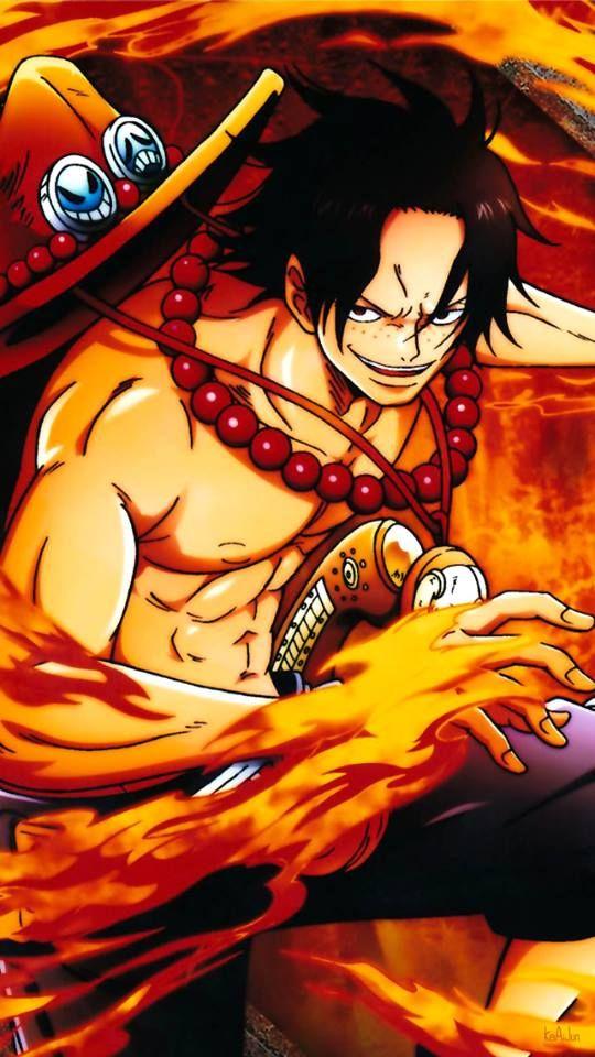 Portgas D Ace Wallpaper One Piece Portgas D Ace Manga One Piece Personagens De Anime