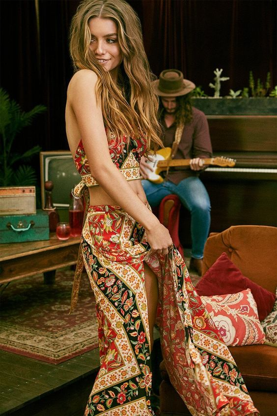 Love the prints! - The latest in Bohemian Fashion! These literally go viral!