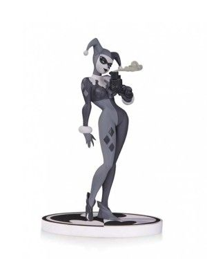 dc collectibles batman black and white harley quinn