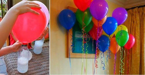 Astuce pour gonfler un ballon sans hélium !
