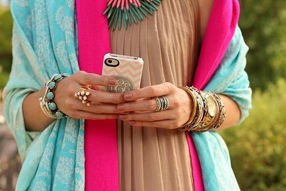 Monogram Iphone Case!!