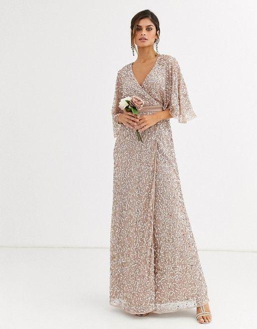 ASOS Mango Miranda Crochet Maxi Dress | robes | Robe