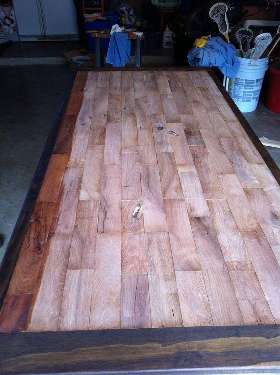 Pinterest the world s catalog of ideas for Mesquite flooring