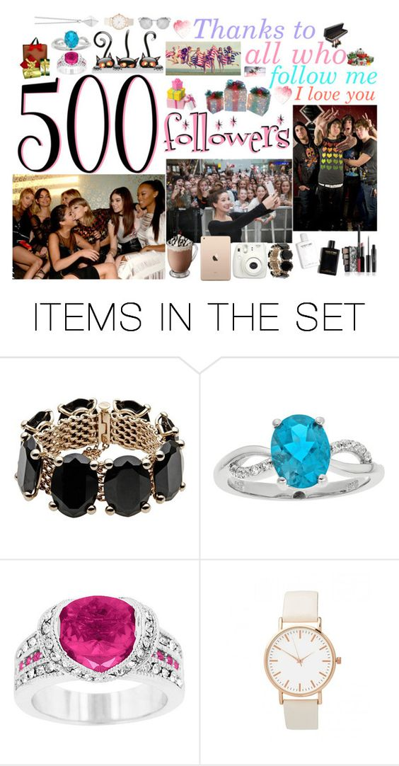 """500 followers"" by milenawest ❤ liked on Polyvore featuring art"