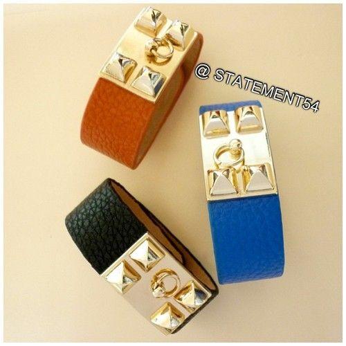 Our fab bracelets! Order on www.Statement54.com
