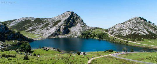Lagos de Covadonga, Asturias. Spain. By http://blog.ridenroad.com/