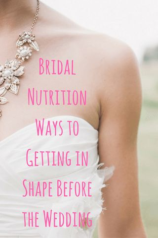 Learn why exercise is important, what foods best promote health, and what to include in the wedding day fare. @DIYActiveHQ #wedding