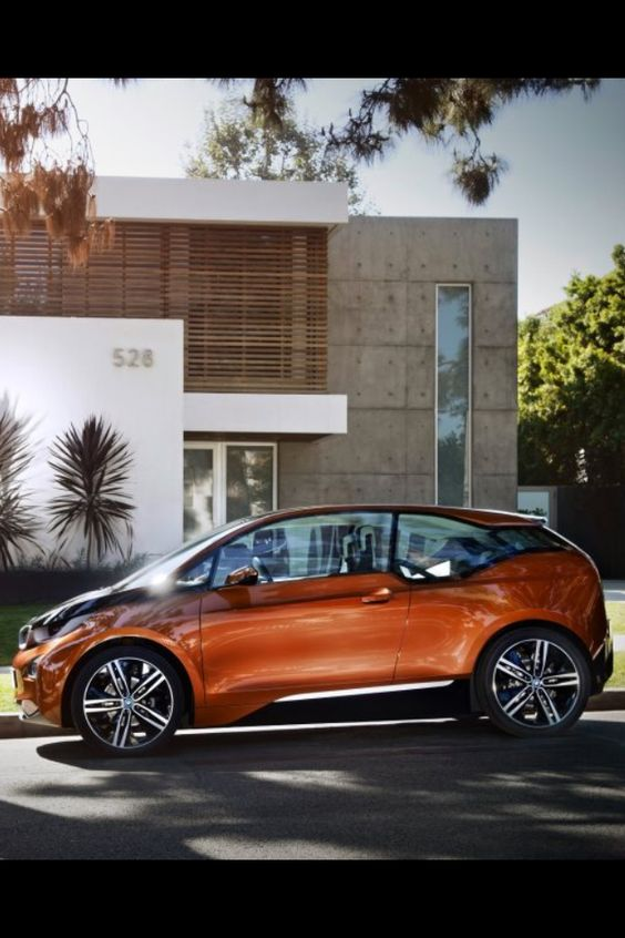 BMW i3 - Starting at 45k - 100 mile range with optional 150 mile (+$3,000) gas engine range extender.