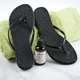 Flip Flop Spa Kit, Exfoliating Sandals, Flip Flop Sparkle Insoles | Solutions