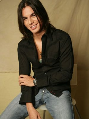 Julio Iglesias Jr - even better looking than his father ever was and way cuter than Enrique LOL