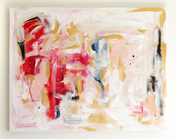 Pursuing - an original painting by Jen Ramos at Cocoa & Hearts