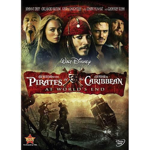 Pirates Of The Caribbean At Worlds End Dvd 2007 Johnny Depp Orlando Bloom In 2021 Pirates Of The Caribbean Walt Disney Movies Pirates