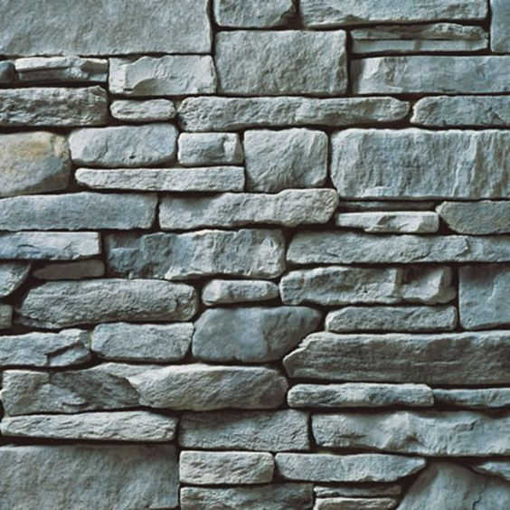 Cs sl gray southern ledgestone cultured stone for Exterior ledgestone