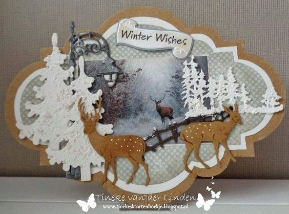 Tineke's kaartenhoekje: Winter wishes