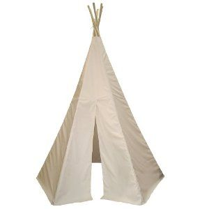 I had a tepee as a child. I would open it up on the soft grass and hide away as the sunshine filtered through. Mine was burgundy.
