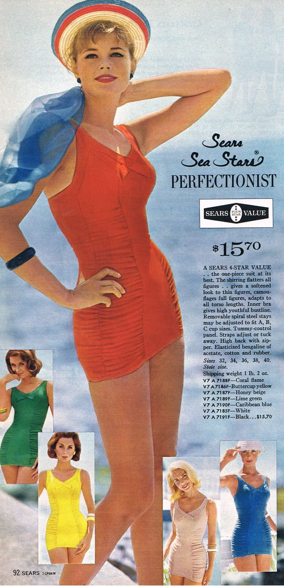 Sears '63 - who says a one-piece isn't sexy?