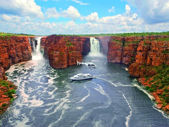 HOLA AUSTRALIA: Cautivadora Kimberley 18. Destinos: Darwin / Katherine / Timber Creek / Kununurra / El Questro / Mt. Eliza.Para los espíritus aventureros que quieren conocer una Australia diferente. Alójate con granjeros australianos y siéntete cerca de los lugareños. Visita la zona norte conociendo la cultura aborigen para conducir hasta la insólita Broome. Terminarás en Perth, la capital de la costa oeste australiana. Una aventura muy recomendable para realizar en los meses de abril a…