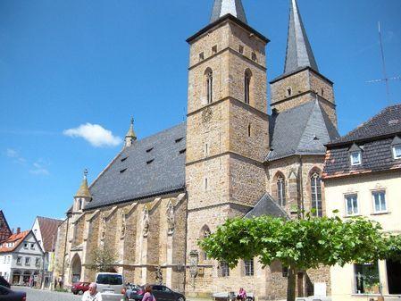 Stadtpfarrkirche #Gerolzhofen
