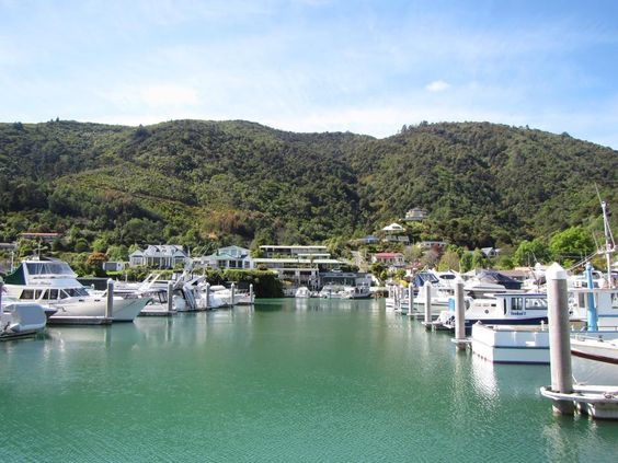 Picton Harbour. New Zealand South Island