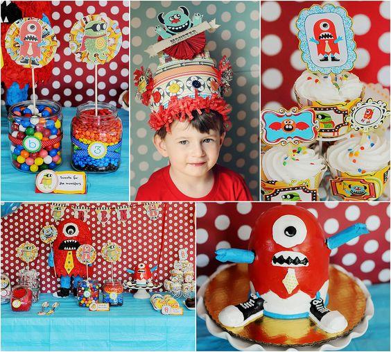 Monster theme birthday