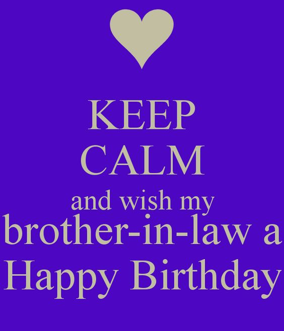 Happy Birthday, Brothers In Law And In Laws On Pinterest