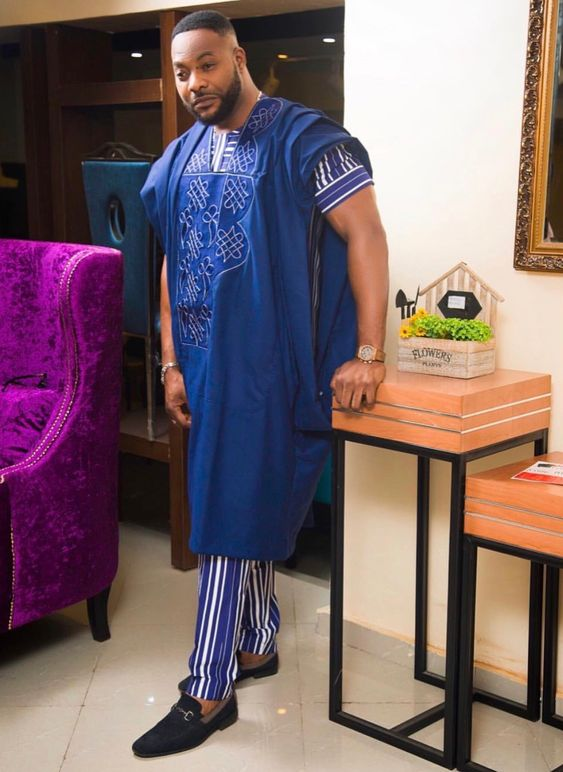 Short Agbada Styles For Men (2018/2019)