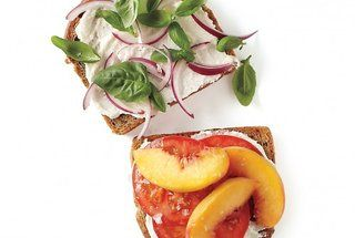 Peach, Tomato, and Ricotta Sandwich — Punchfork | Yummy ...