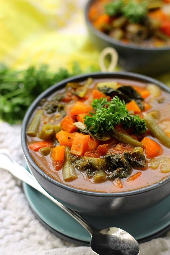 Vegetable soups, Detox and Soups