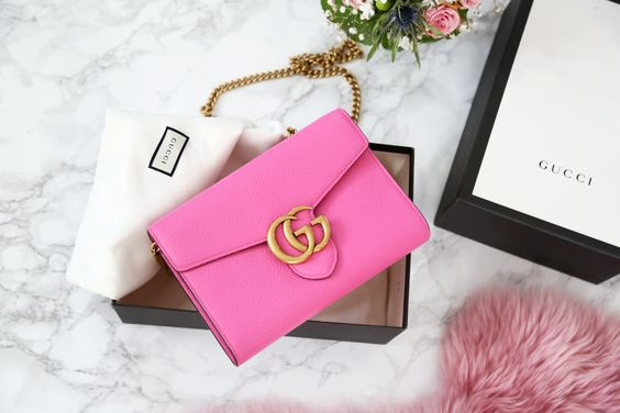Gucci-GG-Martmont-bag-pink-gold-newin
