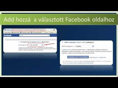 timeline alkalmazás hozzáadása Facebook oldalhoz