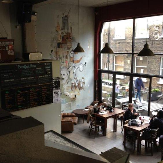Cafe 1001 91 Brick Ln, Spitalfields