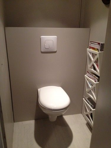 Mod le idee deco wc suspendu d corations de photos taupe et photos - Decoration toilette gris ...